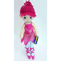 Boneca De Pano Bailarina. (p)