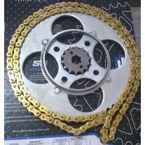 Kit Relação Trilha Wheeling Titan 150 160 Fan 125/150 09/16