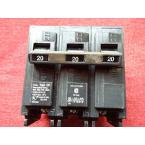 Interruptor Termomagnetico Siemens 20 Amp 3 Polos Tipo Qp