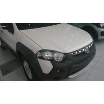 Fiat Strada Adventure 1.6 16v Locker 2016 Crèdito Fiat C/dni