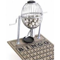 Jogo De Bingo C/ Globo D/ 10 Cm De Diametro - Frete Gratis