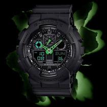Reloj Casio G-shock Ga100 Edicion Militar 5 Alarmas 200m Luz