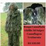 Roupa De Camuflagem 3d Airsoft Traje Ghillie Vestment Eei