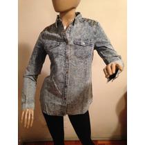 Camisa De Jean Nevada Con/sin Tachas