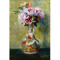 Lienzo Ramo En Florero Auguste Renoir Francia 74 X 50 Cm