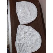 Gorro Blanco En Crochet