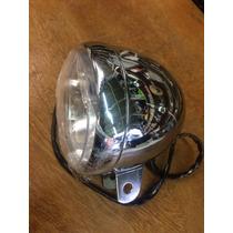 Farol Para Adaptação Customização Moto Chopper Cafe Racer