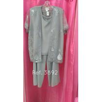 Conjuntos Señoriales Pantalón De Vestir Tallas Grandes P22