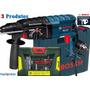 Furadeira Martelete 800w/220v Gbh 2-24 D + Kit 41 Pçs Bosch