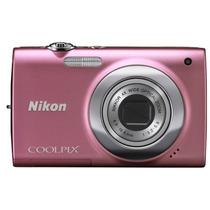 Câmera Digital Nikon 12 Megapixel Coolpix S2500 Rosa Vitrine