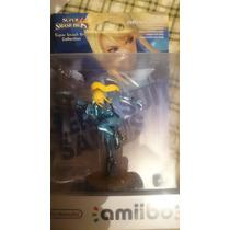 Amiibo Zero Suit Samus Sellada Europea Entrega Inmediata