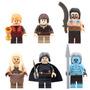 Jon Snow Arya Stark Tyr Game Of Thrones Compatible Con Lego