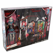 Set Monster High Circo Monstruoso Colección Escenario Muñeca