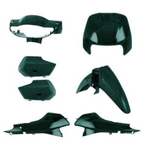 Kit Carenagem Honda Biz 100 Compatível Ano 2001 Verde Metáli