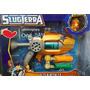 Pistola Bajoterra Slugterra. Lanza Bab+ele Fuego. Galadesign