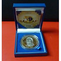 Zambia Bimetalica 50th Aniv Banco Central 50 Kwacha 2014