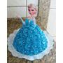 Totem Display Enfeite Bolo Topo Frozen Elsa Anna Princesa