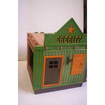 Playmobil Oeste Oficina Sheriff Vintage Casa Vaqueros Indios