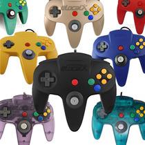 Control Alambrico Para Nintendo 64 N64 Nuevo Sellado Ttx