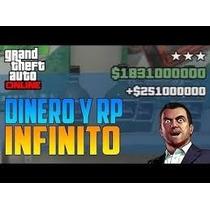Mod/dinero Nivel/rp Gta Online V Ps3 Pack Avanzado