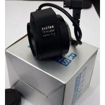 Lente Para Câmera Profissional Auto Iris 0,8mm F1.2 Tipo Dc