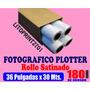 Rollo De Papel Fotografico Para Plotter 36 Pulgadas