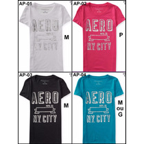 Camiseta Blusinha Aeropostale Hollister Abercrombie Feminina