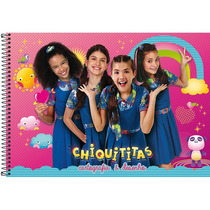 Caderno Des. Univ Cd Chiquititas 96f Espiral C/04 Tilibra