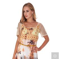 Vestido Maria Valentina Super Verão Lindo