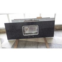 Mesada Granito Negro 1,42x0,62 P/ Simple. Fábrica. Oferta