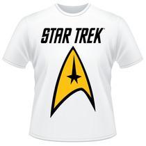 Camiseta Star Trek Jornada Nas Estrelas Série Filme Spock
