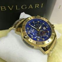 Relógio Bulgare 1ano De Garantia C/frete 12x S/juros