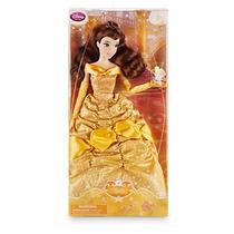 Boneca Bela Da Fera Princesa 2016 Com Bichinho Disney Store