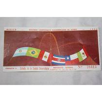 Futbol Boleto Campeonato Panamericano 1956, Jornada 6