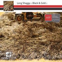 Tapete Long Shaggy, Fio De Seda 70mm, Importado, 1,50x2,00m