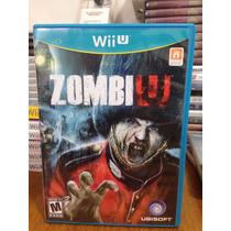 Jogo Zumbi U Nintendo Wii U Pronta Entrega Frete Grátis