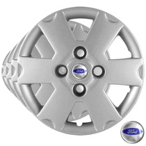 Calota Jogo Aro 13 Ford Ka 2003 2004 2005 Fiesta - Grid033cb