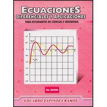Libro: Ecuaciones Diferenciales Y Aplicaciones ... - Pdf