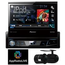 Dvd Pioneer Avh-x7780tv C/ Tv +câmera Ré+ Appradio Lanç 2015