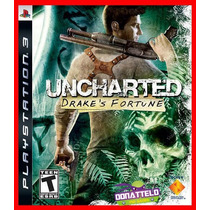 Uncharted 1 Ps3 Codigo Psn Drakes Fortune Legenda Portugues