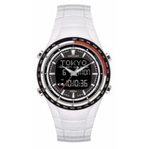 Relógio Orient Masculino Anadigi Hora Mundi Mbss1278