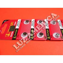 50 Pila Bateria Ag4 Lr626 Srw626 377 Sr626 Reloj