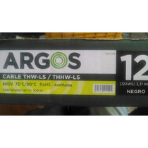 Cable Argos Cal12 Condumex, Condulac