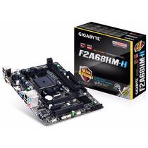 Board Gigabyte F2a68hm-h Fm2+ Sata3 Usb3.0 Hdmi Micro Atx