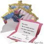 Coleção Social Soirée: Convites Especiais C/ Envelopes - 12