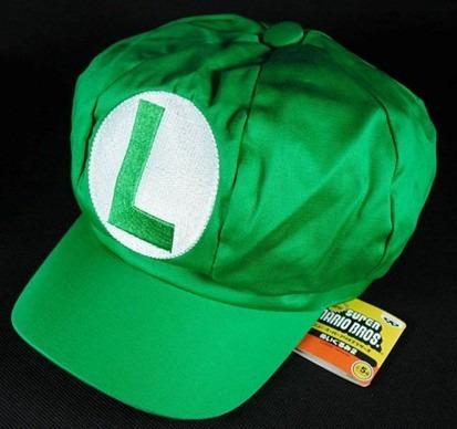 Boné Boina Luigi Cosplay - Super Mario Bros Pronta Entrega - R  40 ... af86b872526