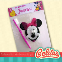 Minnie. Souvenir Portacepillos Con Cepillo Dental