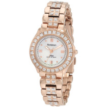 Armitron Mujer 75/3689mprg Swarovski Crystal Accented Ros
