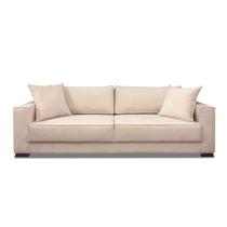 Sofa 3 Lugares 2.20 M - Modelo Small - (tecido Suede)