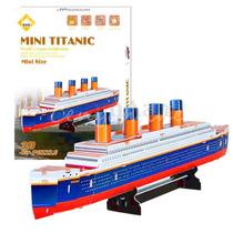Quebra Cabeça 3d Puzzle Titanic 30 Pçs